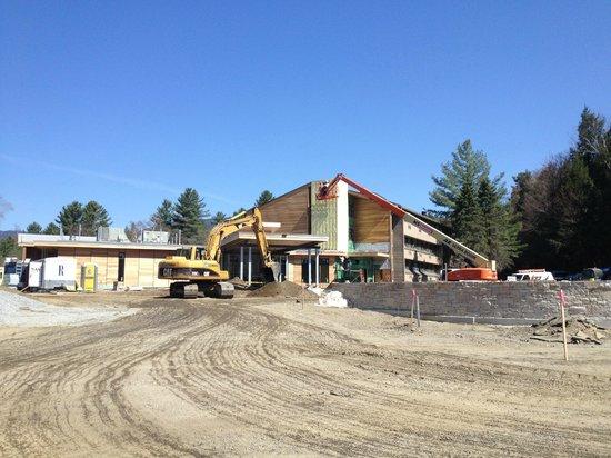 Topnotch Resort: Rénovation complète (Mai 2013). Big remodeling.