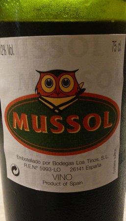 Mussol Casp : Vinho de Rioja mussol