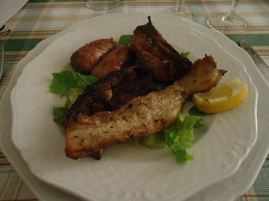 Osteria del Pievano: mixed meat