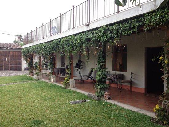 Chez Daniel : Garden area