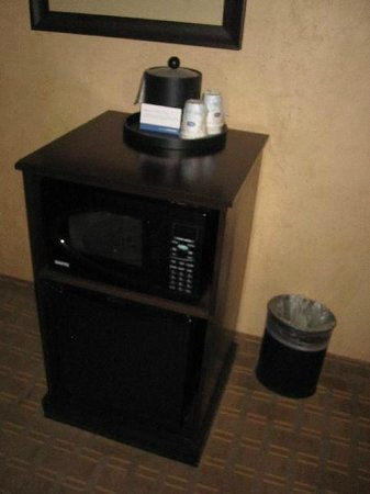 Hampton Inn & Suites Fort Worth Fossil Creek : minibar, microwave