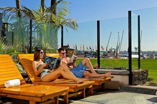 Catamaran Resort Hotel and Spa: Water Views from The Catamaran Resort Spa