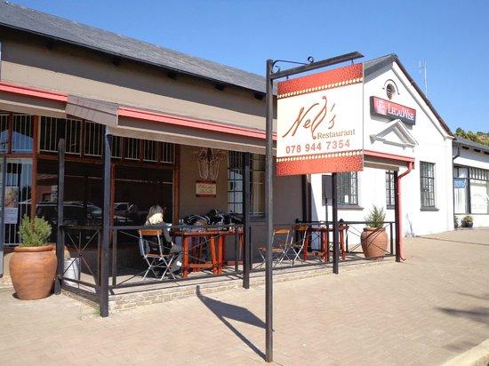 Nell's restaurant in Zastron