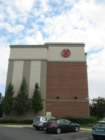 Sheraton Rockville Hotel : Vista parcheggi