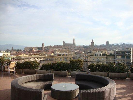 Hotel Continentale: Vista della città dalla terrazza