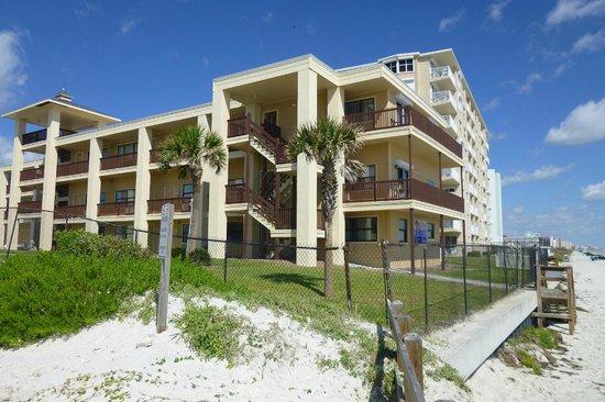 Coastal Waters Inn: property from beach
