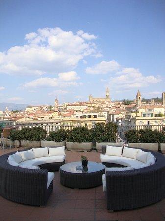 Hotel Continentale: Terrazza