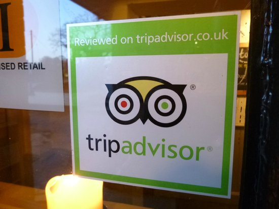 The Sandstone: TripAdvisor sticker