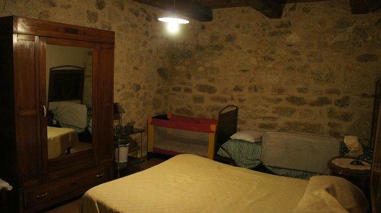 Agriturismo Santa Serena : Pokój sypialny