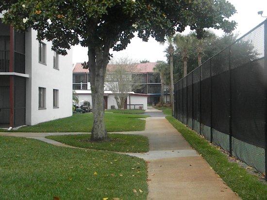 Orbit One Vacation Villas: hotel ground