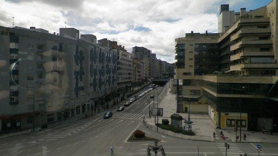 Exe Oviedo Centro: Vista desde la habitación!