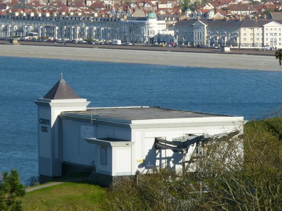Great Orme Cable Cars: Cable car station