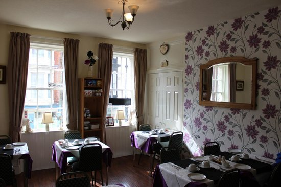 Palace Hill Hotel Scarborough: Breakfast room!