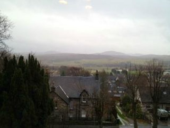 Auld Alliance: the view from our room