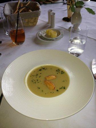 Steve Dedman's at the Regency: スープ