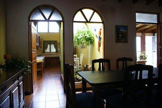 Hostel Mangifera: Comedor