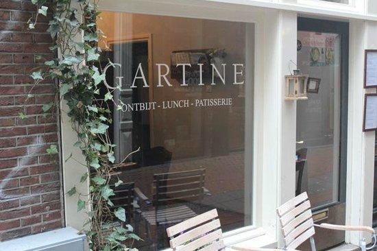 menu - photo de gartine, amsterdam - tripadvisor