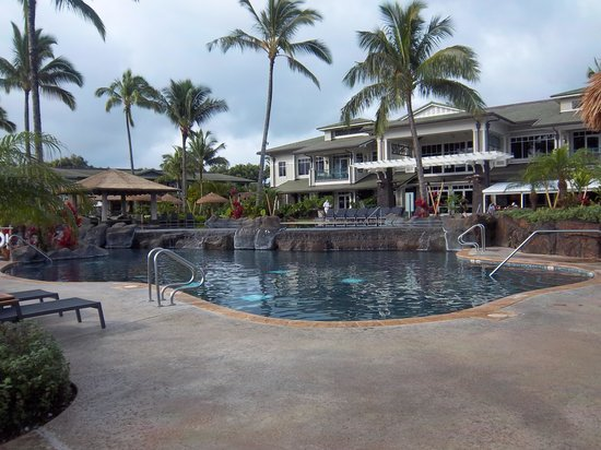 Westin Princeville Ocean Resort Villas: main pool