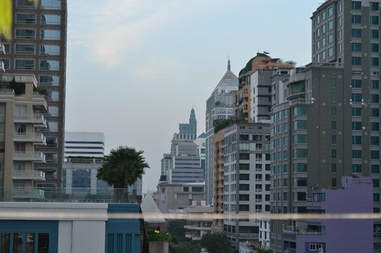 Rongratana Executive Residence: View from the roof garden