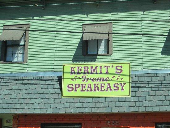 Kermit's Treme Speakeasy: Outside of the Restaurant