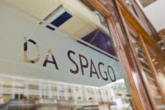 Da Spago front door
