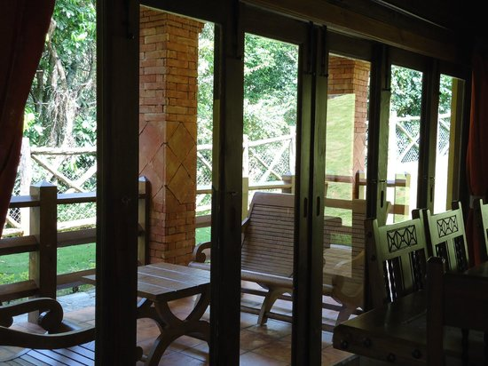 Rancho Las Guazaras: View from the family room