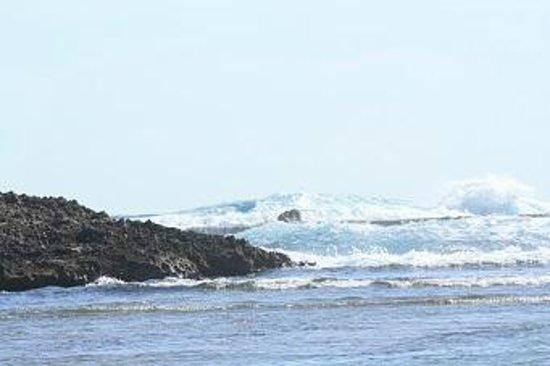 Parador Villas del Mar Hau: Waves Crashing