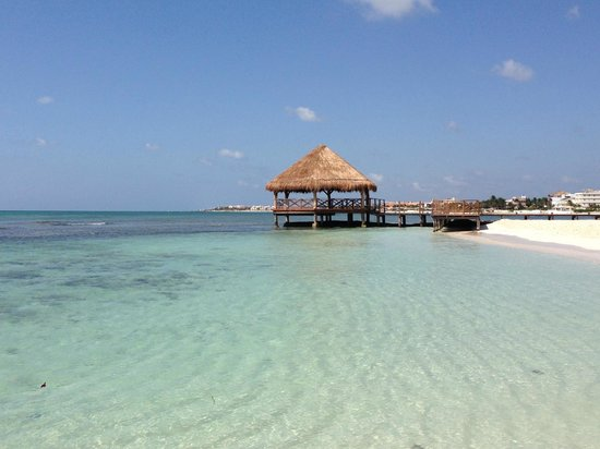 Secrets Silversands Riviera Cancun : beach hut