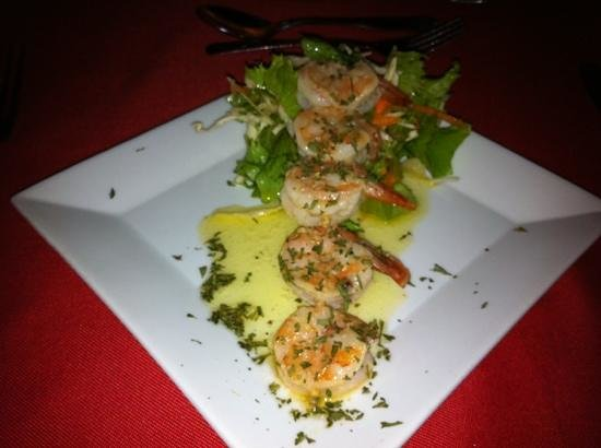 Ocean Grill Restaurant: garlic butter shrimp