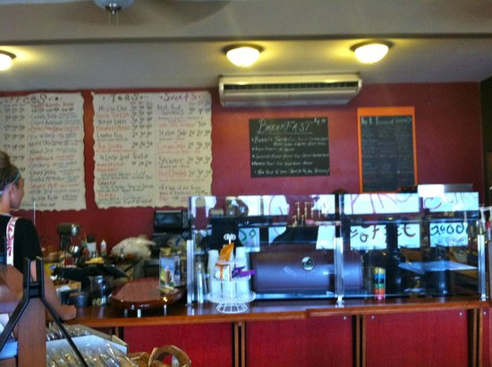 The Beta Coffee House: A rather hipster place.