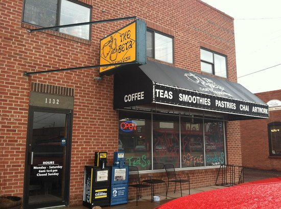 The Beta Coffee House: Front of buiding.