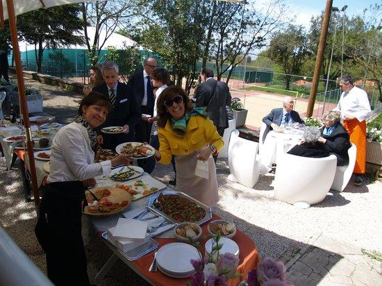 Alma Ristoro: Buffet evento esterno
