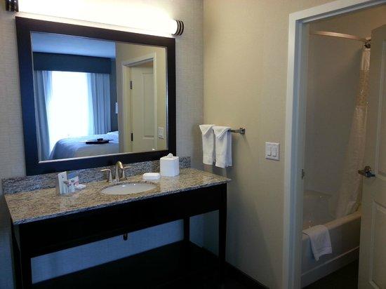 Hampton Inn & Suites Denver/Airport-Gateway Park: Bathroom