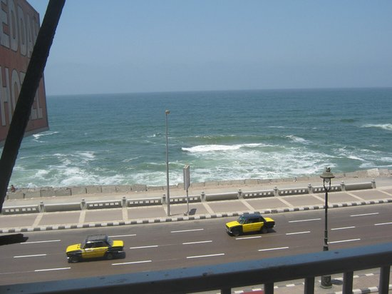 Jeddah Hotel: view from balcony