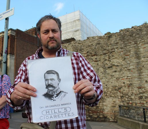 Jack the Ripper Tours : Ripping Yarns Tour (Jack the Ripper), tour guide Chris