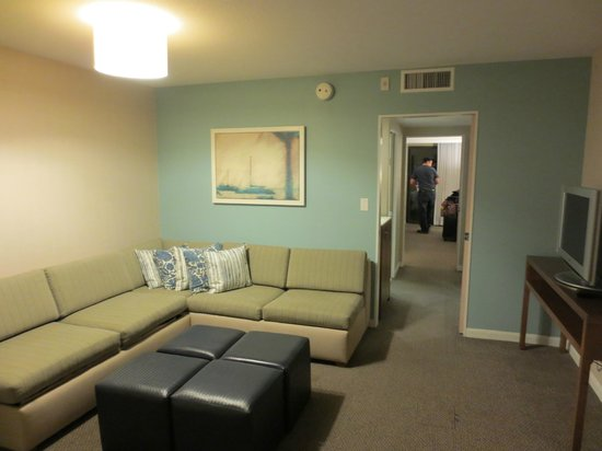 Hyatt Regency Mission Bay: Living Room Area