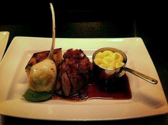 Austell's : Cornish lamb assiette