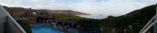 Villas Sol Hotel & Beach Resort: Vista desdela terraza de la habitación