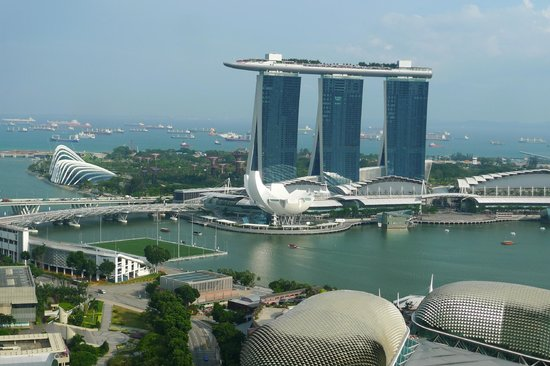 Swissotel The Stamford Singapore: 最高の眺めでした