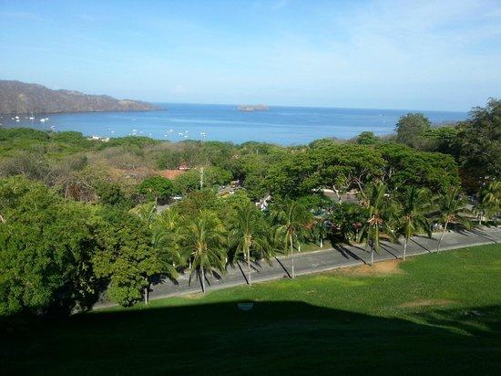 Villas Sol Hotel & Beach Resort: Hermosa vista desde el restaurante del hotel