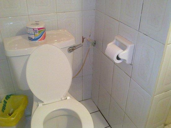 Tropikist Beach Hotel & Resort: Toilet