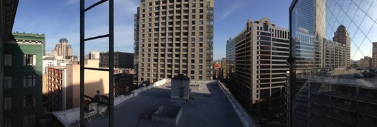 King George Hotel: View from 9th floor
