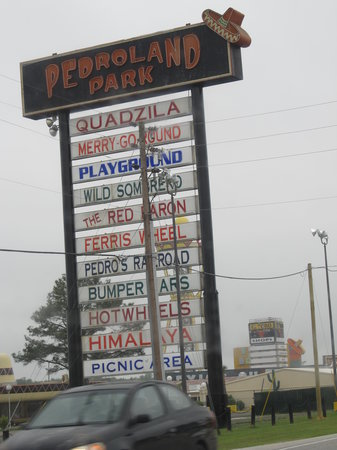 South of the Border, Carolina del Sur: Pedro Land Sign