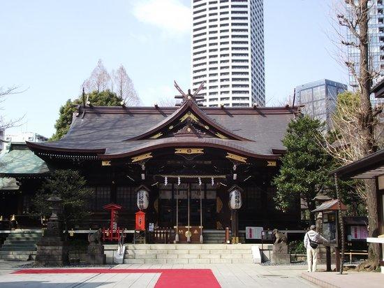 Kumano Shrine : 拝殿正面
