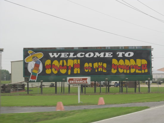 South of the Border, Carolina del Sur: Signs along the Highway