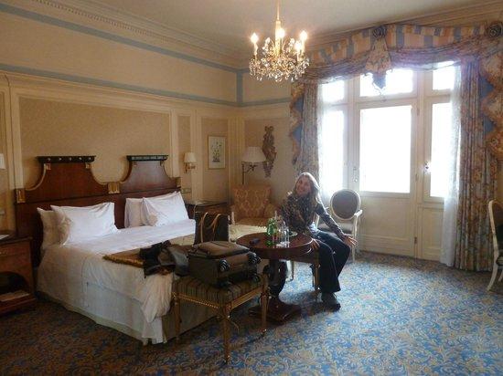 Hotel Bristol Vienna: Nice beds