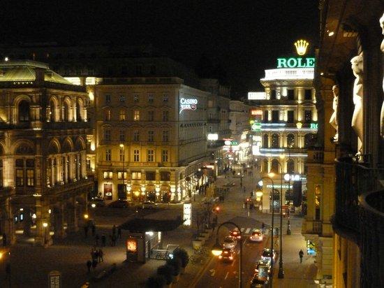Hotel Bristol Vienna: View from room