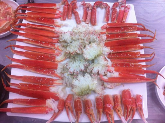 Sokcho Gezzim: steamed crab