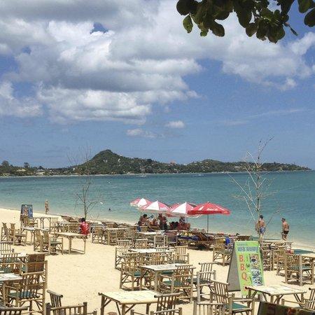 Bikini Bar: Tables on the beach