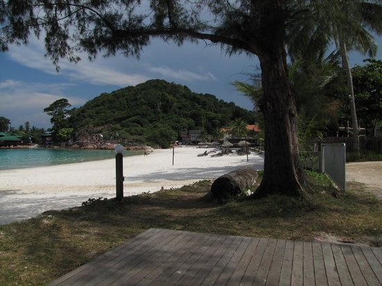 Redang Beach Resort: RBR: View to right whilst sitting in deck chair